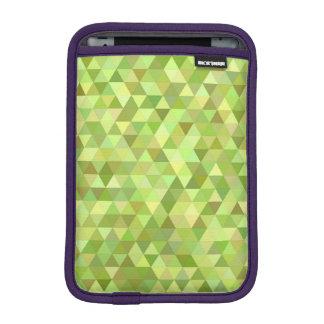 Triángulos de la cal funda para iPad mini