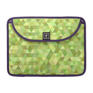 Triángulos de la cal funda para MacBook