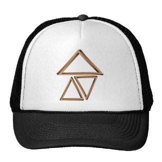 Triángulos fantásticos 3 gorras