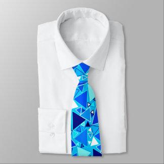 Triángulos modernos de los mediados de siglo, corbata personalizada