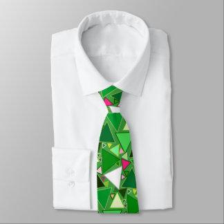 Triángulos modernos de los mediados de siglo, corbatas personalizadas