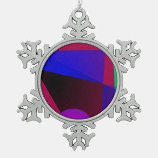 Triángulos y círculos adorno