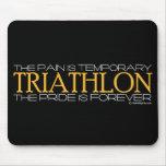 Triathlon - el orgullo es Forever Alfombrilla De Raton