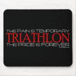Triathlon - el orgullo es Forever Tapete De Ratón