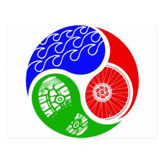 Triathlon TRI Yin Yang Postal