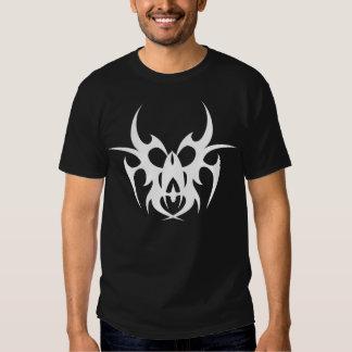 tribal demon mask camiseta