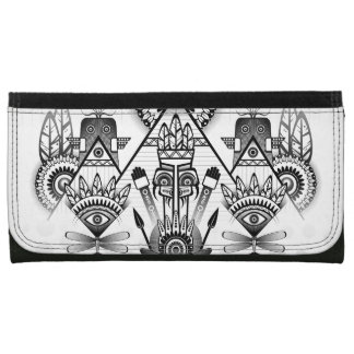 Tribal indio nativo antiguo abstracto