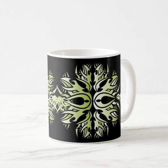Tribal mug 6 green taza de café