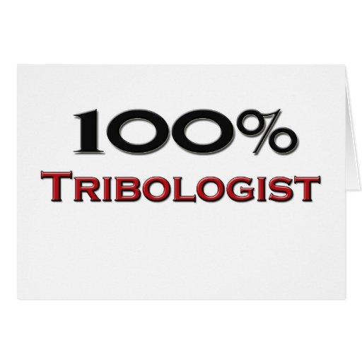 Tribologist del 100 por ciento tarjetón