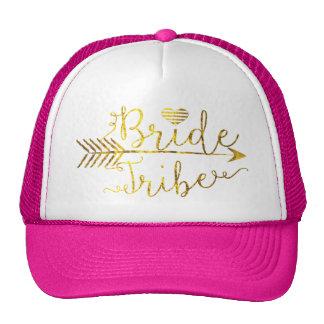 Tribu de la novia del oro con la flecha gorra