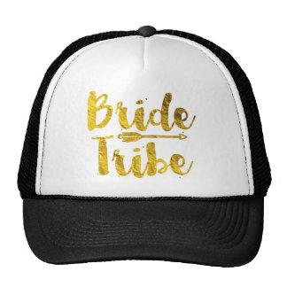 Tribu de la novia gorras de camionero