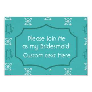 Tribu de la novia invitación 8,9 x 12,7 cm