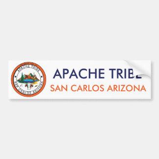 Tribu San Carlos Arizona de Apache Pegatina Para Coche