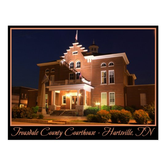 Tribunal del condado de Trousdale - Hartsville, TN Postal