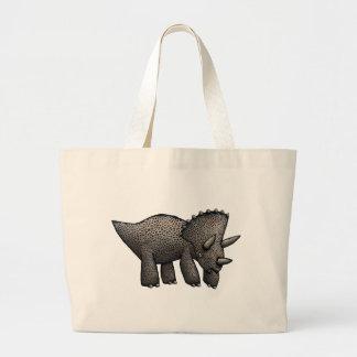 ¡Triceratops! Bolsa Tela Grande