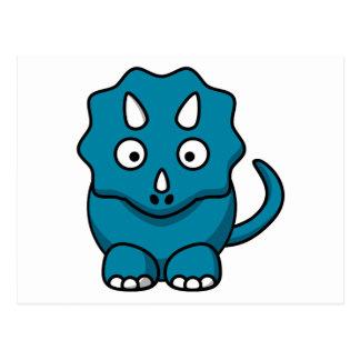 Triceratops del bebé postal