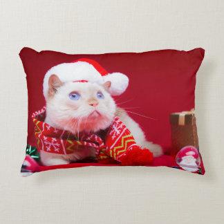 Trident la almohada del navidad del gato