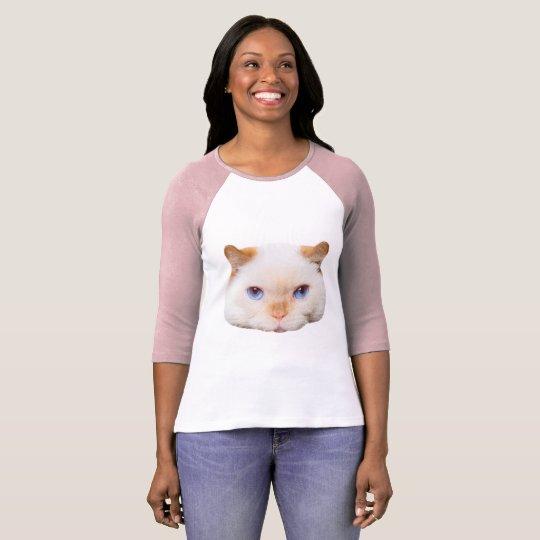 Trident la camiseta del béisbol del gato