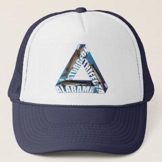 Trifecta del esturión de Alabama - azul - gorra