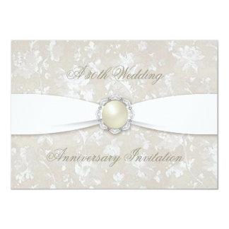 Trigésima invitación del aniversario de boda del