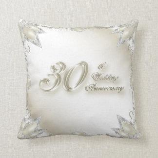 trigésimo Almohada de tiro del aniversario de boda