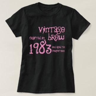 trigésimo Brew 1983 del vintage del regalo de Camisetas