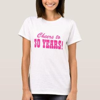 trigésimo Camisetas de la fiesta de cumpleaños