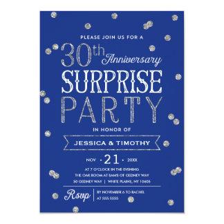 trigésimo Fiesta de sorpresa del confeti del Invitación 12,7 X 17,8 Cm