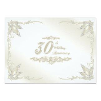 trigésimo Invitación del aniversario de boda