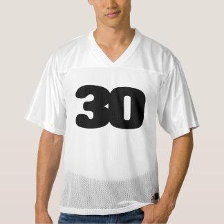 Trigésimo jersey del fútbol del CUMPLEAÑOS del