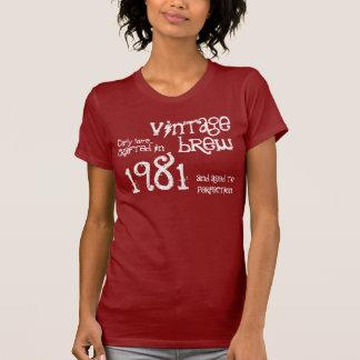 trigésimo Regalo de cumpleaños vintage S01 de an o Camiseta