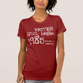 trigésimo Regalo de cumpleaños vintage S04 de 1985 Camiseta