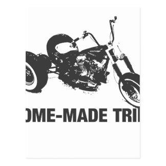 Trike hecho en casa postal