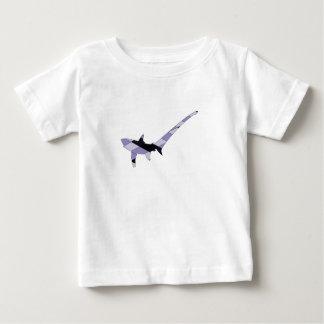 Trilladora pelágica camiseta de bebé