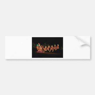 Trineo 2016 de Santa del navidad Pegatina Para Coche