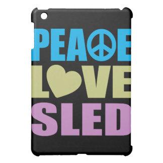 Trineo del amor de la paz