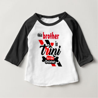 Trini 2 de bone (Brother) Camiseta De Bebé