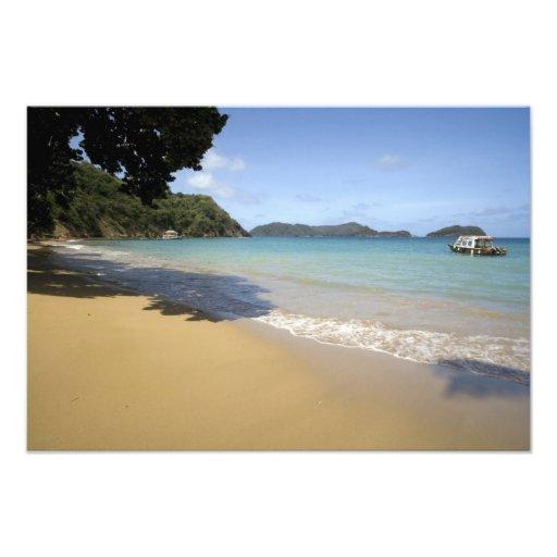 - Trinidad y Tobago - playa del Caribe a lo largo  Arte Con Fotos