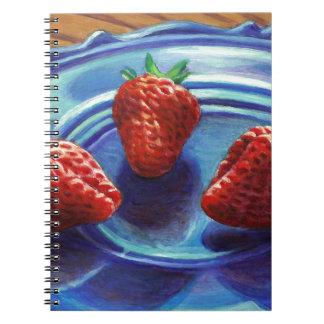 Trío de la fresa cuaderno