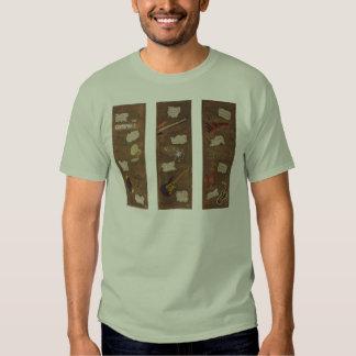 Trío de la música de jazz del vintage - camiseta