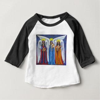 Trío de la música del ángel camiseta de bebé
