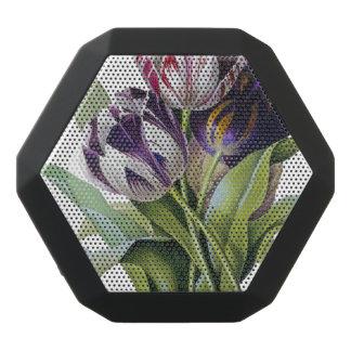Trío de los tulipanes altavoz negro con bluetooth