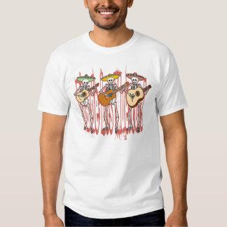 Trío del esqueleto del Mariachi Camisas