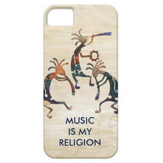 Trío del músico de KOKOPELLI + sus ideas iPhone 5 Case-Mate Coberturas