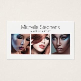 Trío moderno de la foto para los artistas de tarjeta de visita