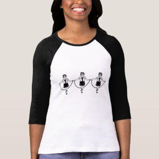 tríos de la comba 3D Camiseta