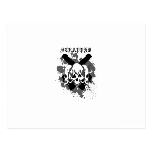 tríos de la edición del cráneo tarjetas postales