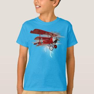 Triplano de Fokker de barón rojo Camisas