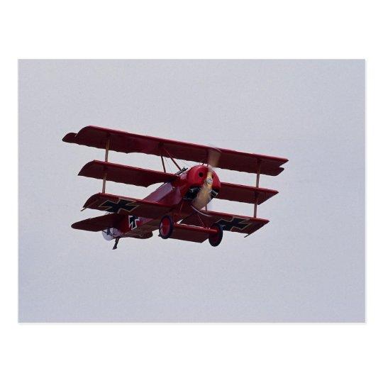 Triplano de Fokker DR.1 Postal