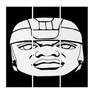 Tríptico Blanco de Olmec